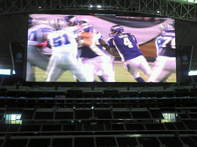 Cowboys Stadium Big Screen Scoreboard