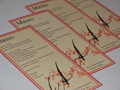 Bridal Shower Menu on Mae Armstrong Designs  Wedding And Bridal Shower Invitations