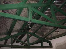 el techo trminado y la electricidad del sum
