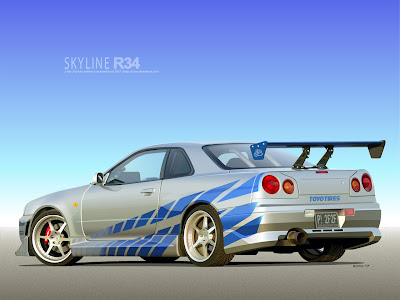 2F2F Skyline Vector by p3nx Fotos de autos tuning y camionetas!