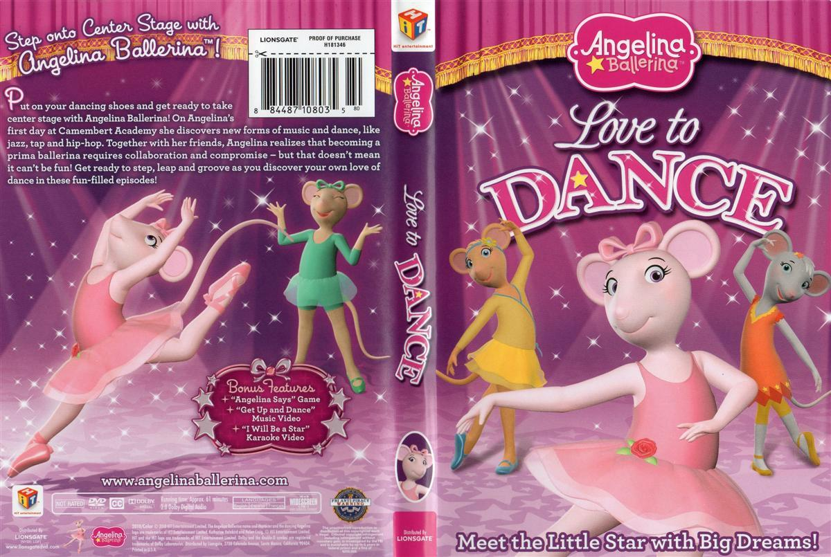Angelina La Bailarina  2010   DvdRip   Espa  Ol Latino   1 Link   FLS