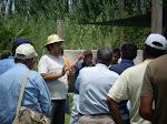 El Alguaribay agasajó a los apicultores chilenos