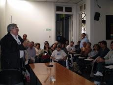 El Dr. Carlos Benedetti llenó las instalaciones de la Fundación Rural