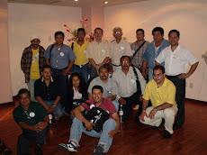 Alumnos asistentes al curso de polen dentro del Seminario de Mazatlán