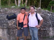 Haciendo Amigos en la peninsula de Yucatán