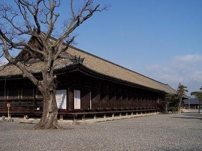 Der Sanjuusangen-do-Tempel mit 120 m Länge