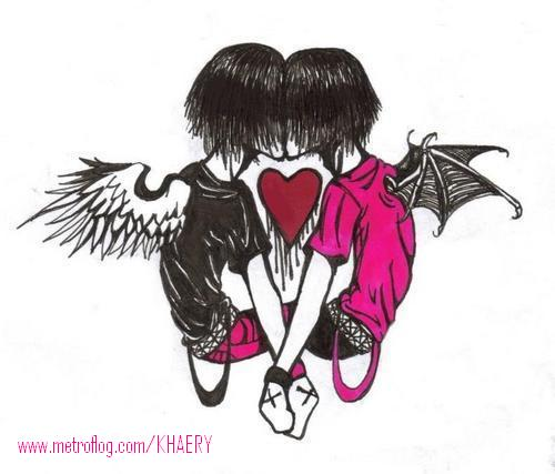 La primera imagen ... - Página 3 Amor_emo