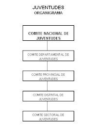 ORGANIGRAMA DEL ESTAMENTO DE JUVENTUDES