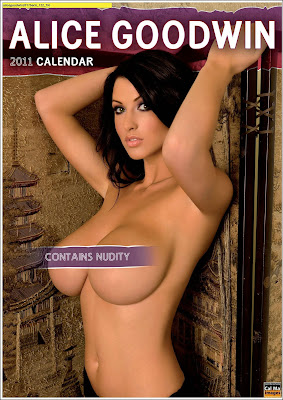 Alice Goodwin Official 2011 Topless Calendar