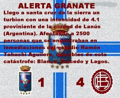 Gallinas vs Lanus