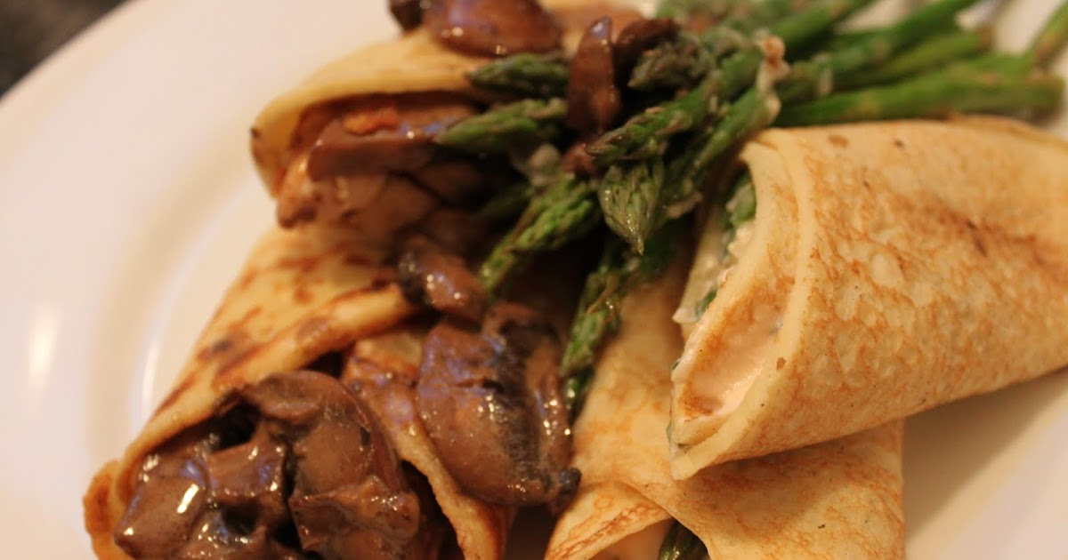 ... - Creamy Chicken & Mushroom and Smoked Salmon Mousse with Asparagus