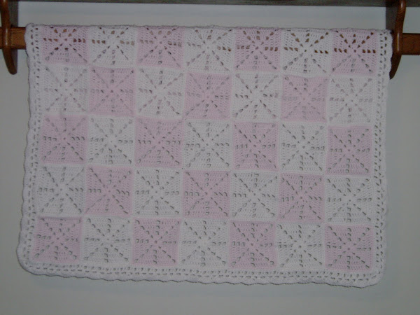 Gingham Blanket (crochet)
