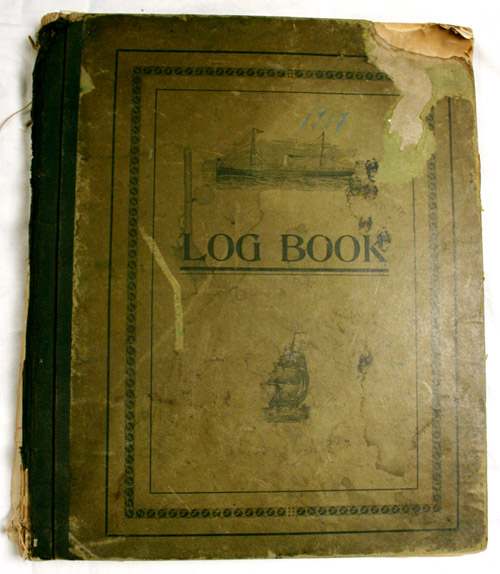 Log Book cover