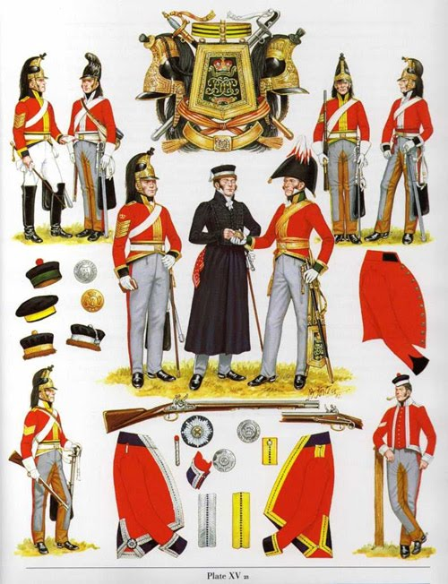 4th Royal Irish Dragoon Guards uniforms