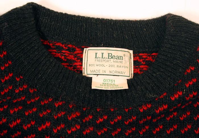 L.L. Bean detail
