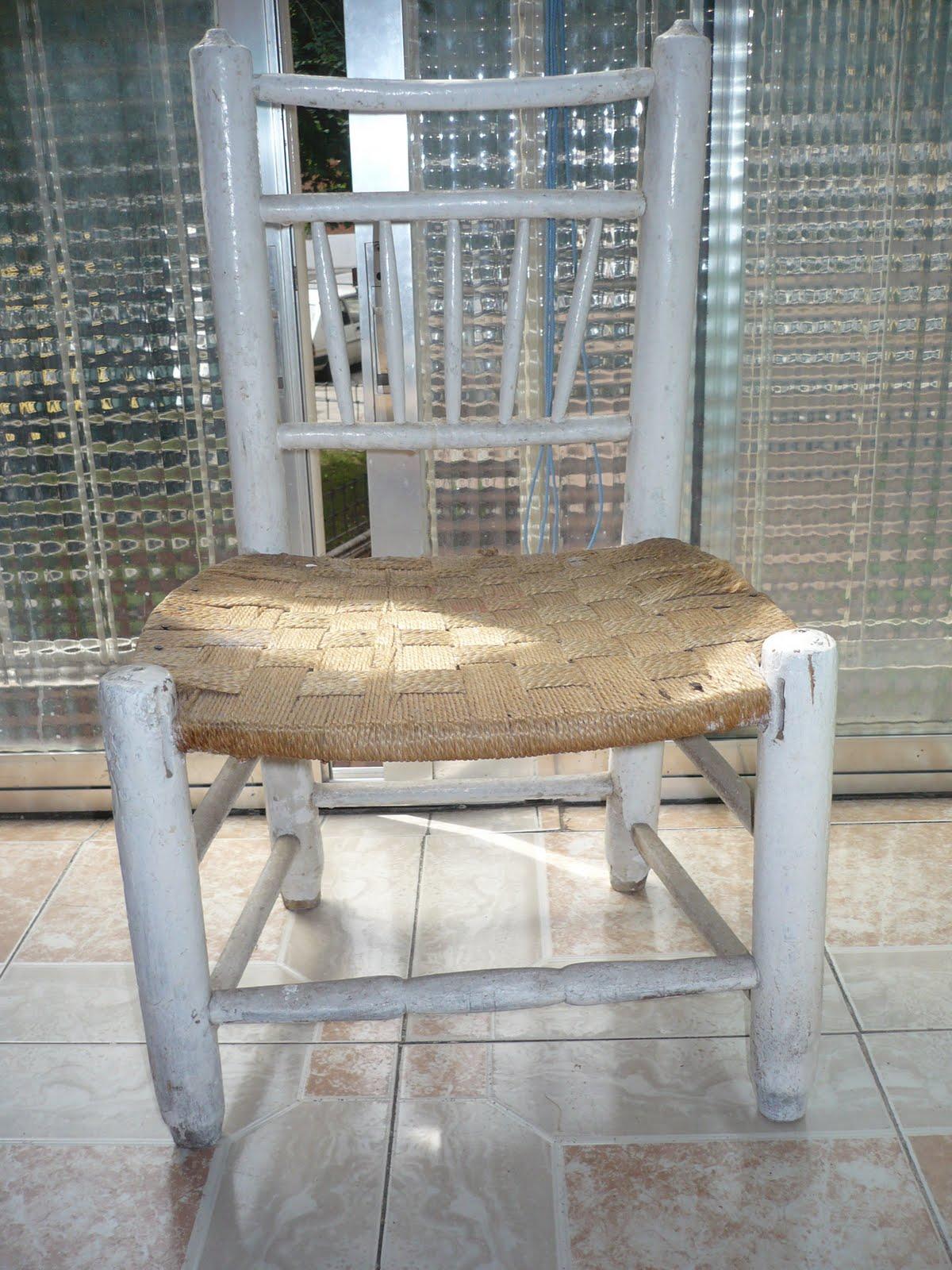 Decoracion y manualidades diciembre 2010 - Pintar sillas de madera ...