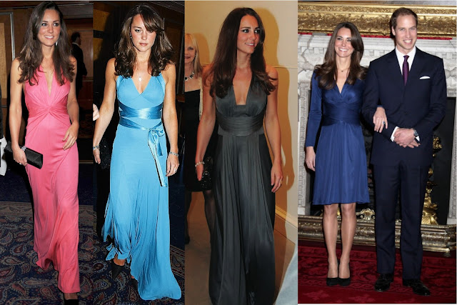 vestidos de Kate Middleton