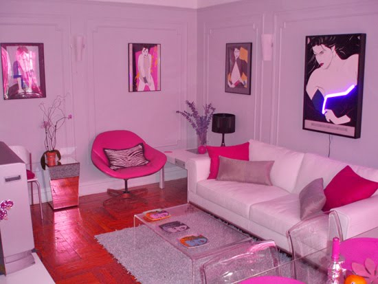 Every barbie deserves her dream house glam nyc interior for 90s room design