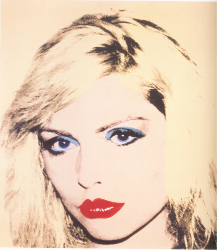 Debbie Harry portrait by Andy Warhol