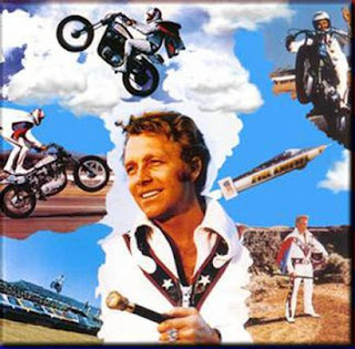 Evel Knievel collage
