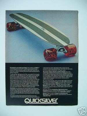 Quicksilver skateboard
