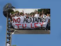 Universitarios rechazan la Ley de Universidades, diciembre 2010
