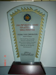 Presidential Award for Most Outstanding MSME's 2009 Award