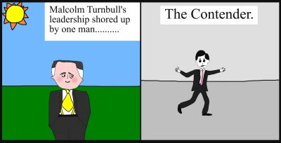 """Malcolm Turnbull""""Kevin Andrews"""