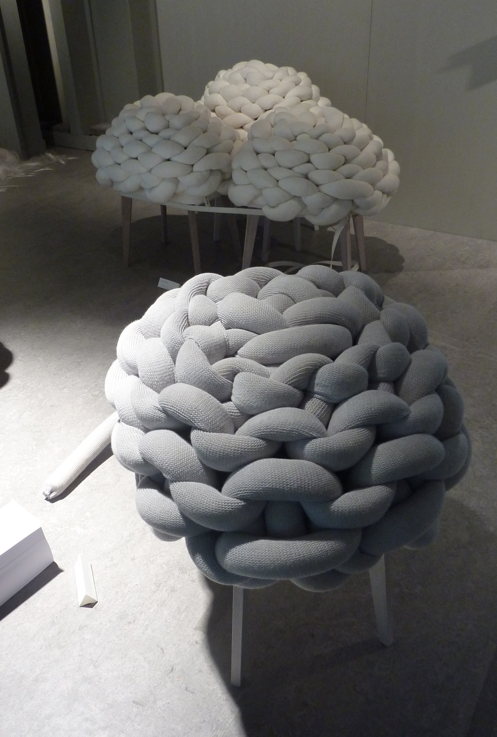 Jung You Choi Graduated From The Design Department U0027 Man And Well Beingu0027  She Designed The Cloud Stool, A Stool Like A Cloud, Soft, Fluffy And Airy.