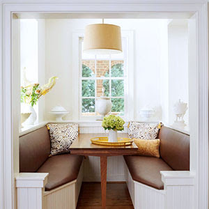 Dmitriy howard banquette seating in the kitchen - Banquettes in kitchens ...
