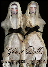 Conjoined Ghost Twin Dolls