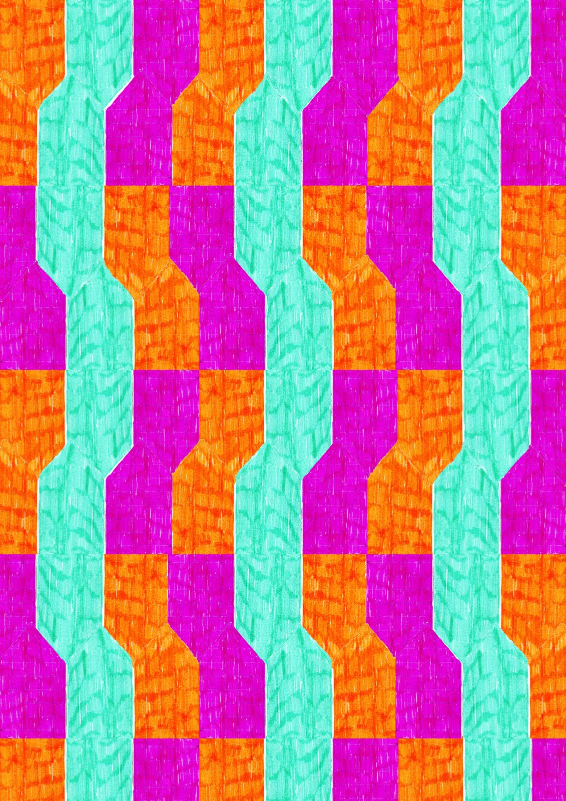 Bright Colourful PatternsBright Colourful Patterns
