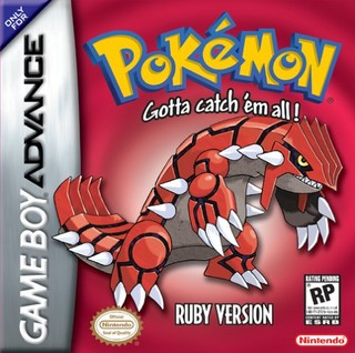 Pokemon Ruby and Sapphire Ruby