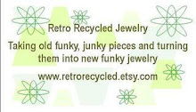 Retro Recycled Jewelry at Etsy