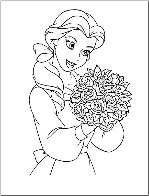 Coloring Pages Of Disney Princesses - Best Coloring Pages ...