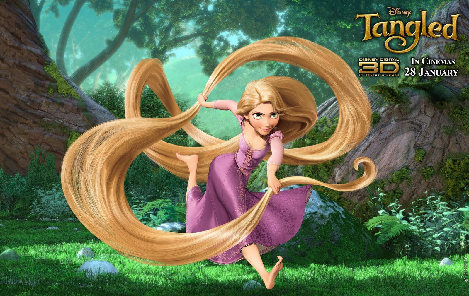 Wallpapers With Rapunzel Beautiful Tangled