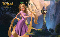 Tangled Princess Wallpapers