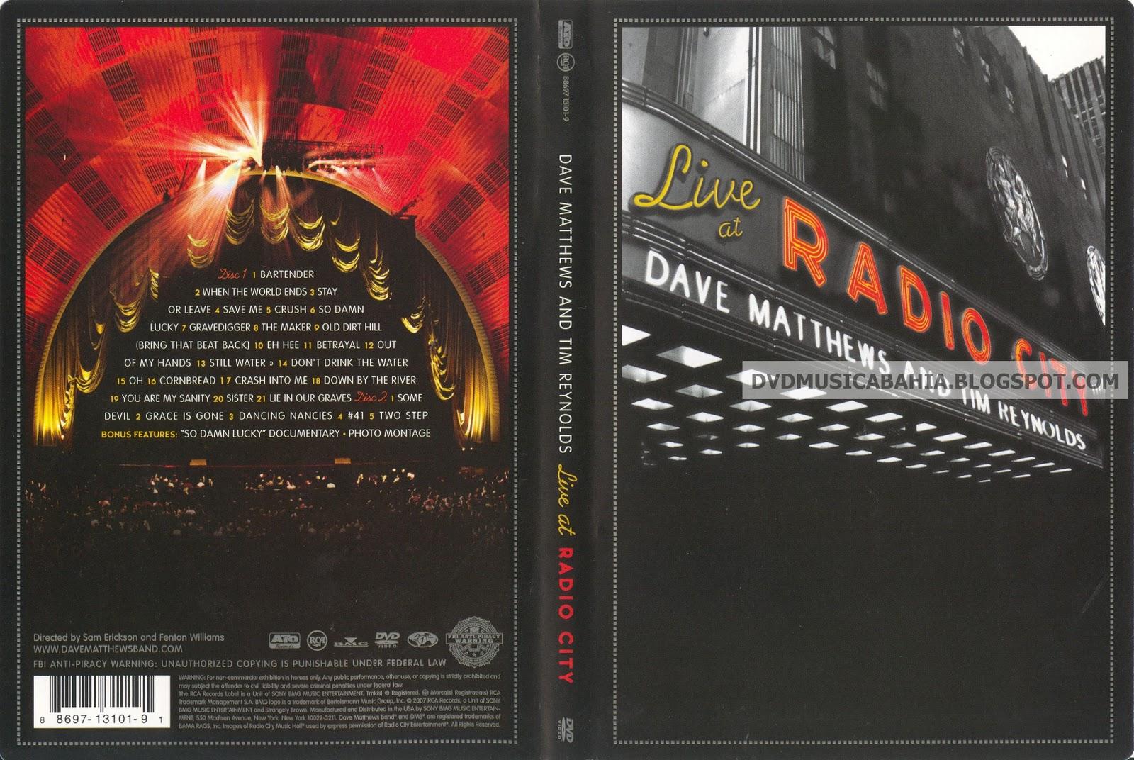 Dave Matthews & Tim Reynolds Live at Radio City …