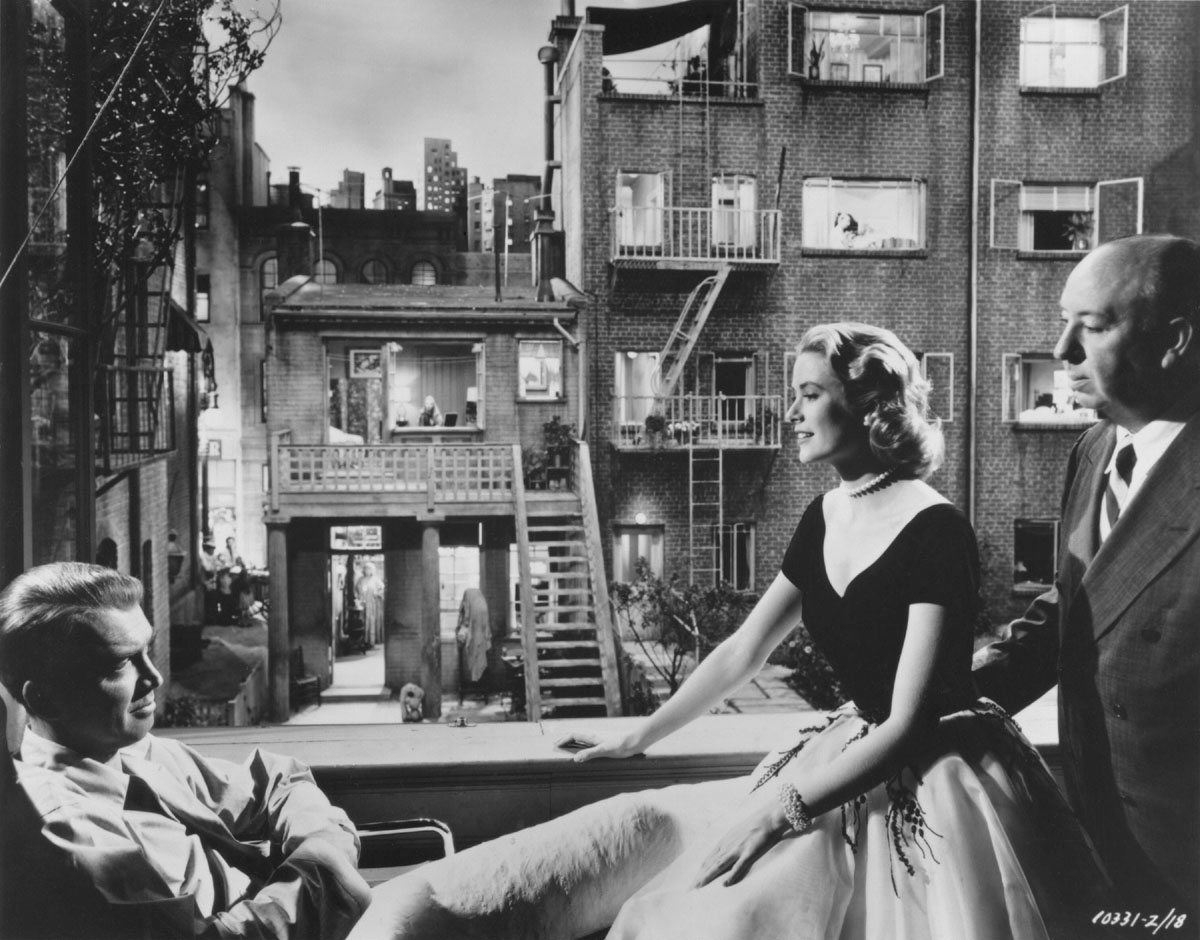 the pathology of the characters in the movie rear window directed by alfred hitchcock
