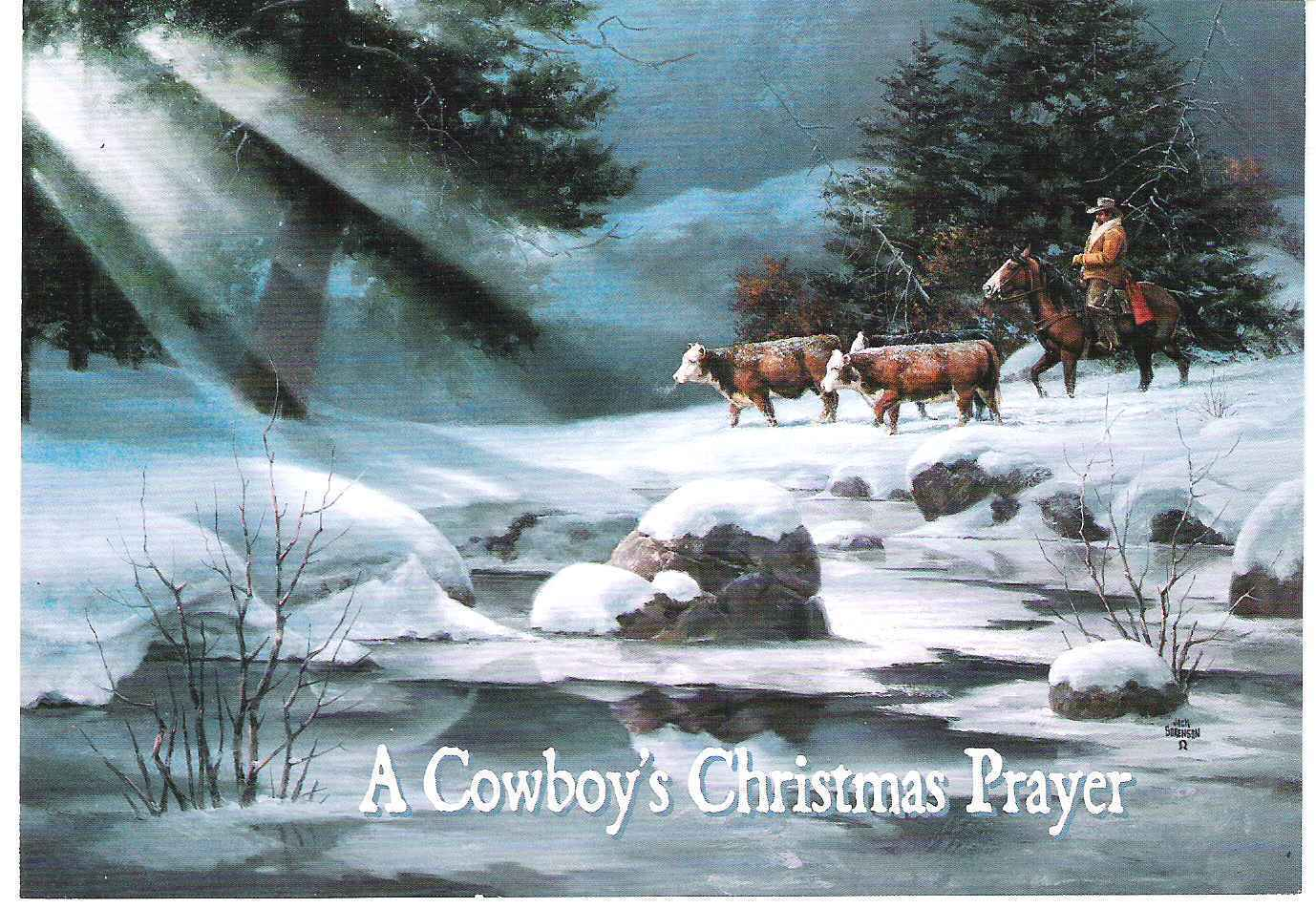 Westerns...All'Italiana!: A Cowboy's Christmas Prayer