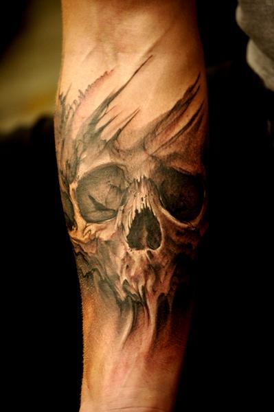 Jeff Gogue Tree Cross Tattoos