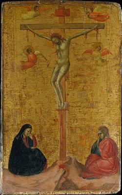 Daddi crucifixion metropolitan museum of art new york c 1325 30