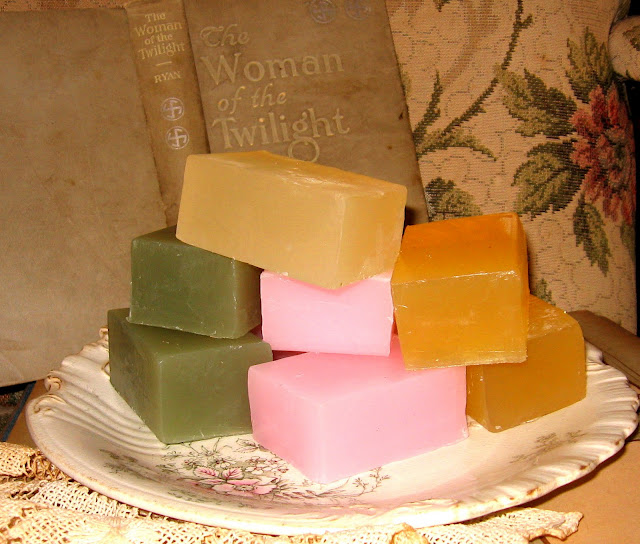 Rough-cut Glycerin Soaps