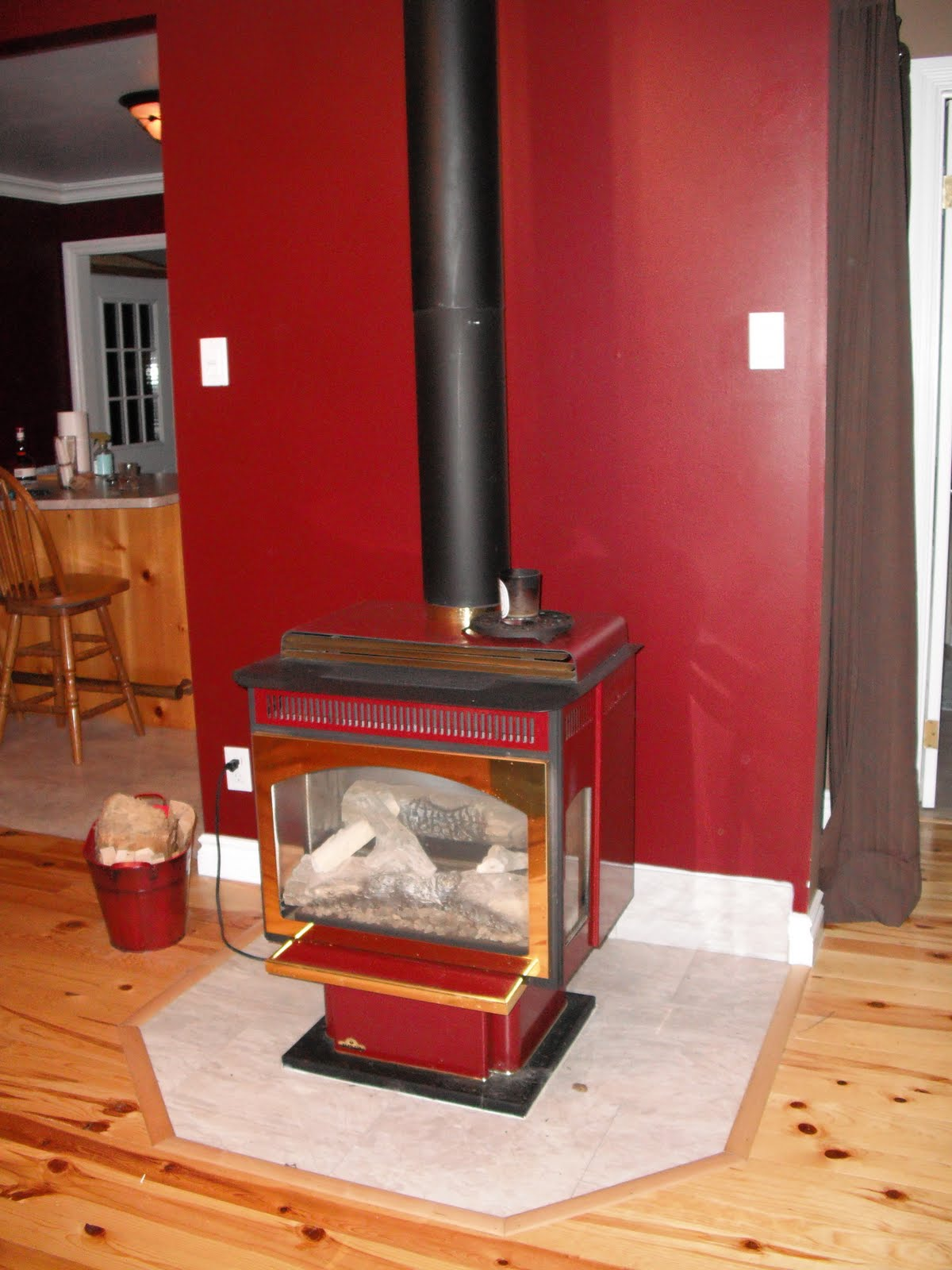 Wood Stove shiny. - Studio Blog €� Muddaritaville Studio