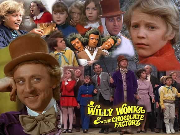 Willie wonka and the chocolate factory 1972