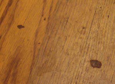Linda 39 S Bees Getting Wax Off Of My Hardwood Floors
