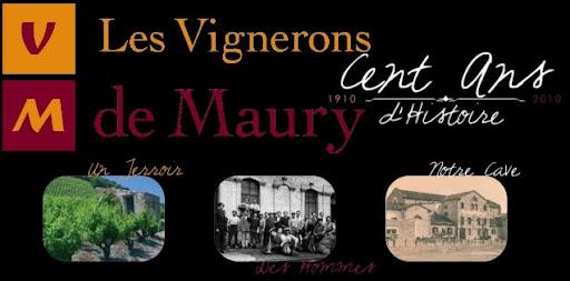 Les vignerons de Maury Le Blog