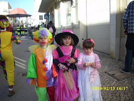 Também gostam de brincar ao carnaval
