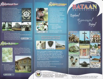Travel Brochure In Philippines Sample Image Gallery - Hcpr