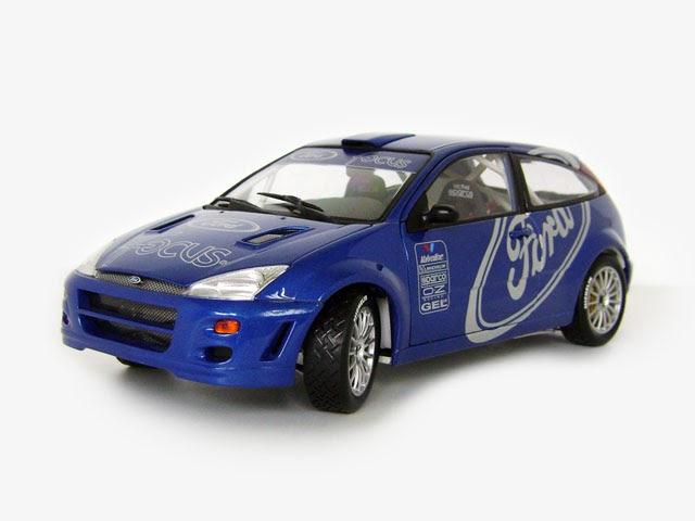 118diecast ford focus wrc presentation car 1999
